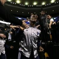 Rajon Rondo got one hell of a reception on his return to Boston last night