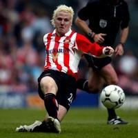 Sunderland's former blonde bombshell has joined Drogheda United