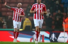 Stephen Ireland sprung from the bench to score twice and complete Potters comeback
