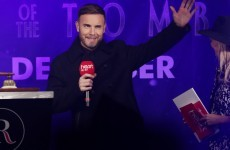 Gary Barlow says he will sing at your wedding if you 'stalk' him on Twitter... it's The Dredge