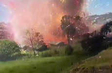 Watch: You probably don't want to be this close to an exploding fireworks factory