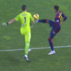 Neymar tried a Georgie Best last night ... and got booked for it