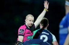 We could have heard the best one-liner in refereeing history in the Pro12 over the weekend
