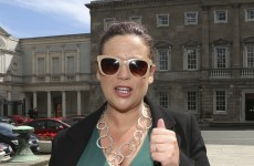 Mary Lou thinks Sinn Féin would have to be the largest party to go into government