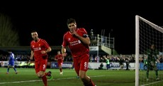 Departing Gerrard the difference as Liverpool overcome Wimbledon