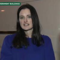 UTV Ireland reporter doesn't even flinch when stray van ploughs through her shot