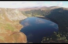 Stunning drone footage will give you a brand new appreciation for Wicklow