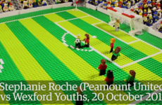 THAT Stephanie Roche goal can now be watched in brick form