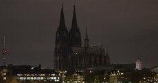 Cologne Cathedral plunged into darkness in protest over anti-Islam rallies