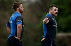 Sean O'Brien and Cian Healy to return to contact training within three weeks