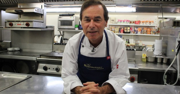 He hasn't gone away you know... Alan Shatter is on TV3's The Restaurant tonight