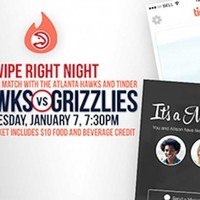 The Atlanta Hawks are hosting a 'swipe right' Tinder night