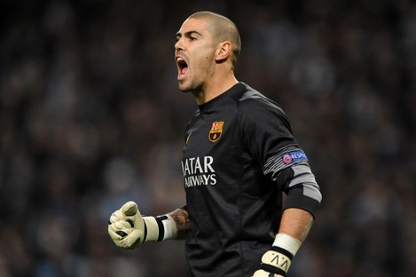 Valdes spent his entire professional career at Barcelona before leaving last summer.