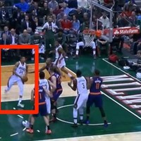 This dunk from the 19-year-old 'Greek Freak' lit up the NBA last night
