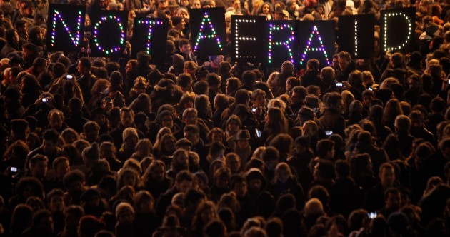Across the world, vigils for the victims of the Charlie Hebdo attack