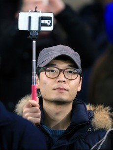 Selfie sticks may be everywhere but they're not welcome at White Hart Lane