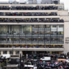 Pictures: Around the world a moment's silence is held for the 12 killed in Charlie Hebdo attacks
