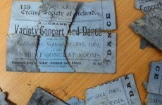 The National Gallery found these 114-year-old tickets under their floorboards
