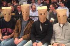 Think your team is bad? New York Knicks fans are wearing paper bags on their heads at games