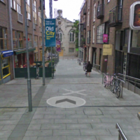 A homeless man was found dead in Dublin's Temple Bar this morning