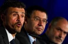I'll sack Luis Enrique, Bartomeu tells Messi - Spanish TV
