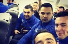 There were a few hairy moments on Leinster's redirected flight to Bristol last night