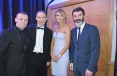 Steph Roche meets O'Neill, Keane and his beard before heading off to Ballon d'Or awards