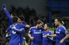 Oscar and Costa strike as leaders Chelsea take advantage of Man City's slip-up
