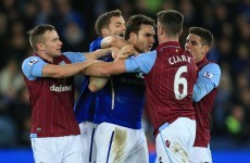 Ciaran Clark sent-off as Leicester's revival continues while Burnley inflict more woe on QPR