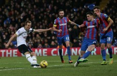 Another goal from 'The Hurricane' wasn't enough to help Spurs avoid defeat at Palace