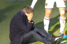 Roberto Mancini stars in Man Getting Hit By Football