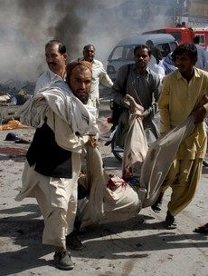 53 killed in second day of Pakistan bombs