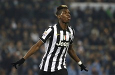 Pogba does his best Zizou impression with brilliantly-taken volley