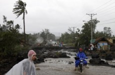 Fatal storms shake Philippines and South Korea