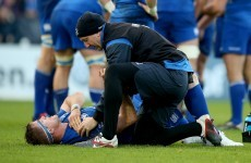 Leinster captain Jamie Heaslip an injury doubt for visit of Castres