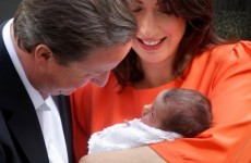 Camerons bring baby Florence home to number 10