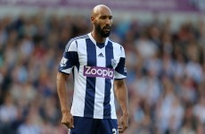 No over-27s need apply... Nicholas Anelka told he's too old to play in Algeria