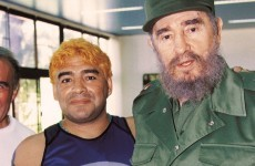 Fidel Castro 'proves' he's alive... by writing to Maradona (seriously)