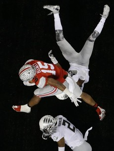 There was a big shock in last night's college football championship game