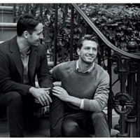 This is the first Tiffany's ad ever to feature a gay couple