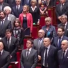 Perhaps the world's greatest national anthem, sung for the victims of the Paris attacks
