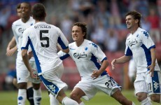 Rovers leave with Copenhagen, still in the tie
