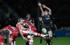 Saracens lock Kruis will miss Munster clash because of this tip tackle