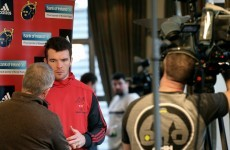 'We can't get around to every Munster fan to say thank you, but we'd love to' -- Peter O'Mahony