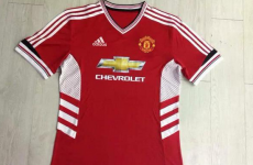 Is this Manchester United's Adidas-designed home jersey for next season?