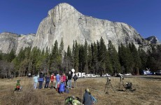 Yosemite duo complete world's most difficult climb... free-climbing (yikes)