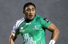 Major blow for Connacht as Bundee Aki ruled out for up to 10 weeks