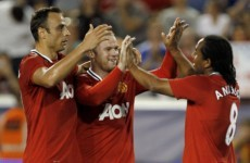 Watch Rooney pull the strings as United put four past Americans