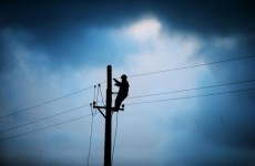 Lightning now a problem as crews work to reconnect power