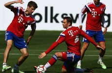 Thomas Müller thinks Bayern Munich's training is tougher than Bundesliga matches
